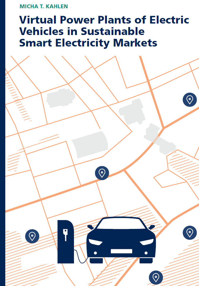 Virtual Power Plants of Electric Vehicles in Sustainable Smart Electricity Markets