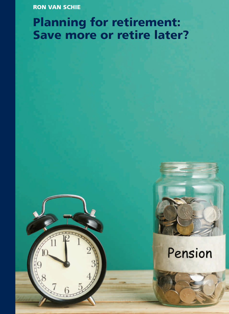 Planning for retirement: Save more or retire later?