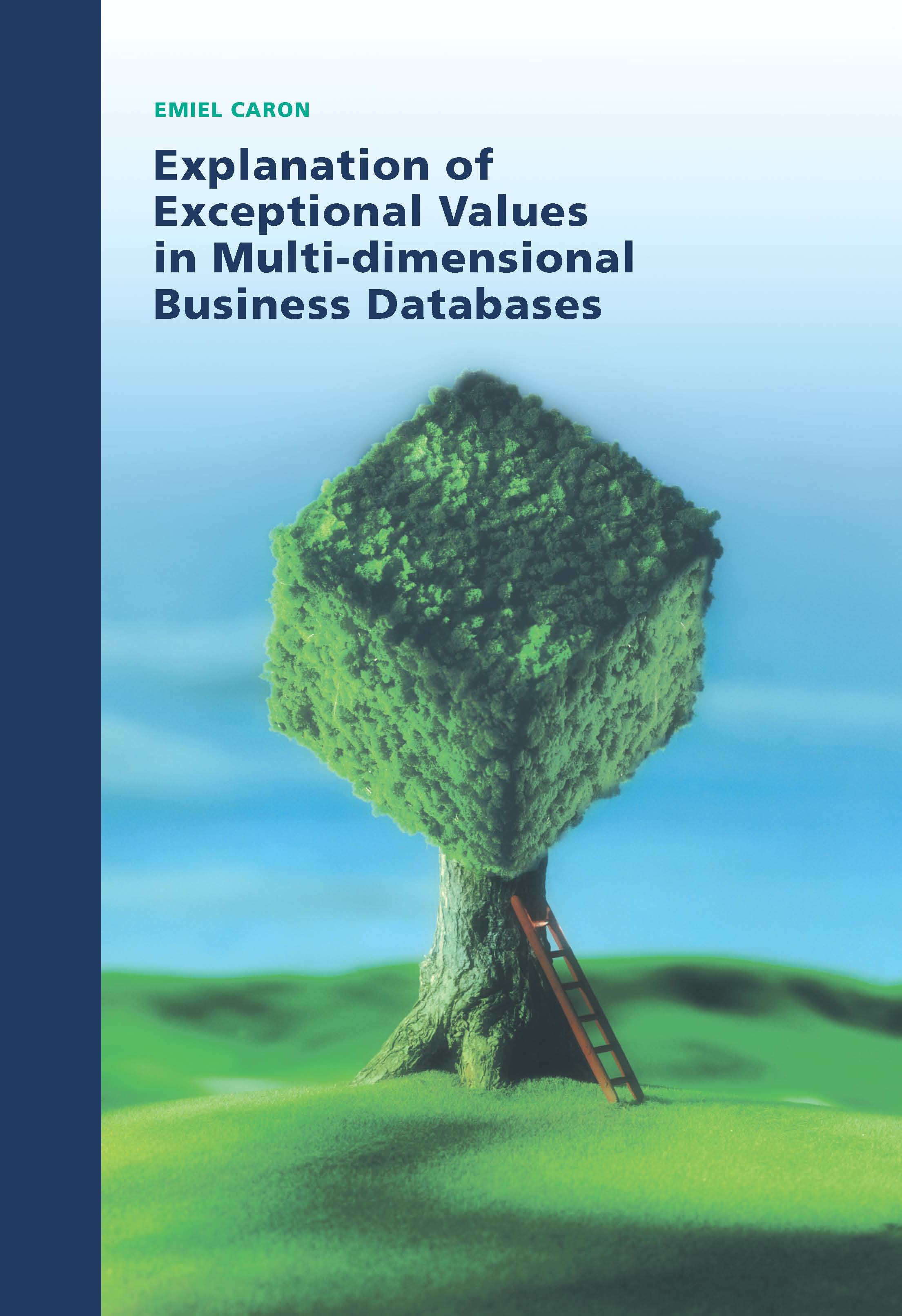 Explanation of Exceptional Values in Multi-dimensional Business Databases