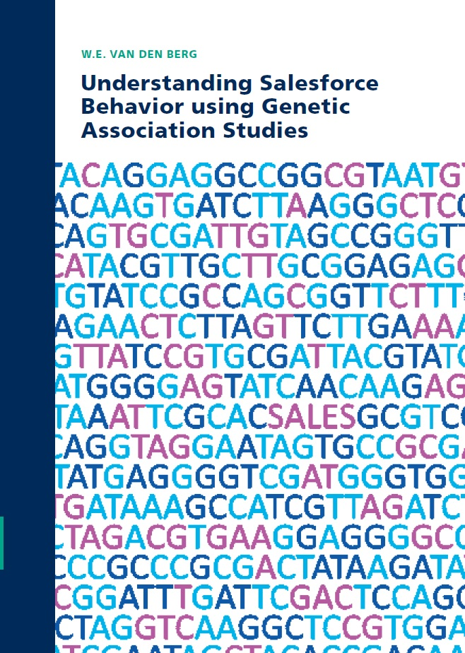 Understanding Salesforce Behavior using Genetic Association Studies