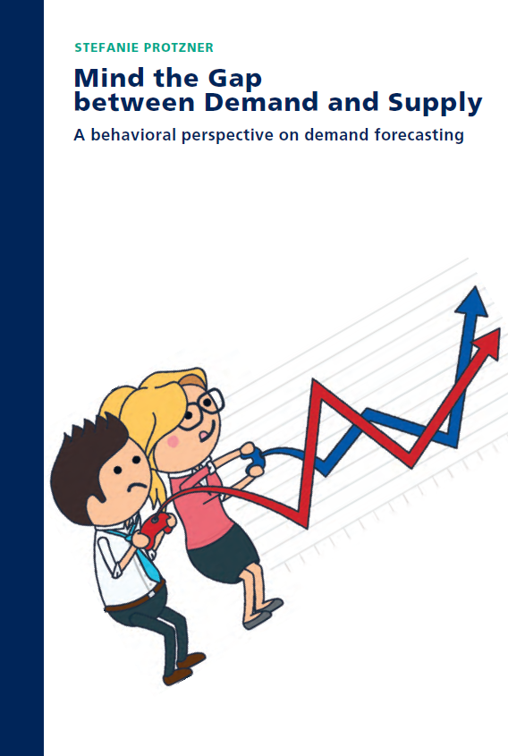 Mind the Gap between Demand and Supply: A behavioral perspective on demand forecasting