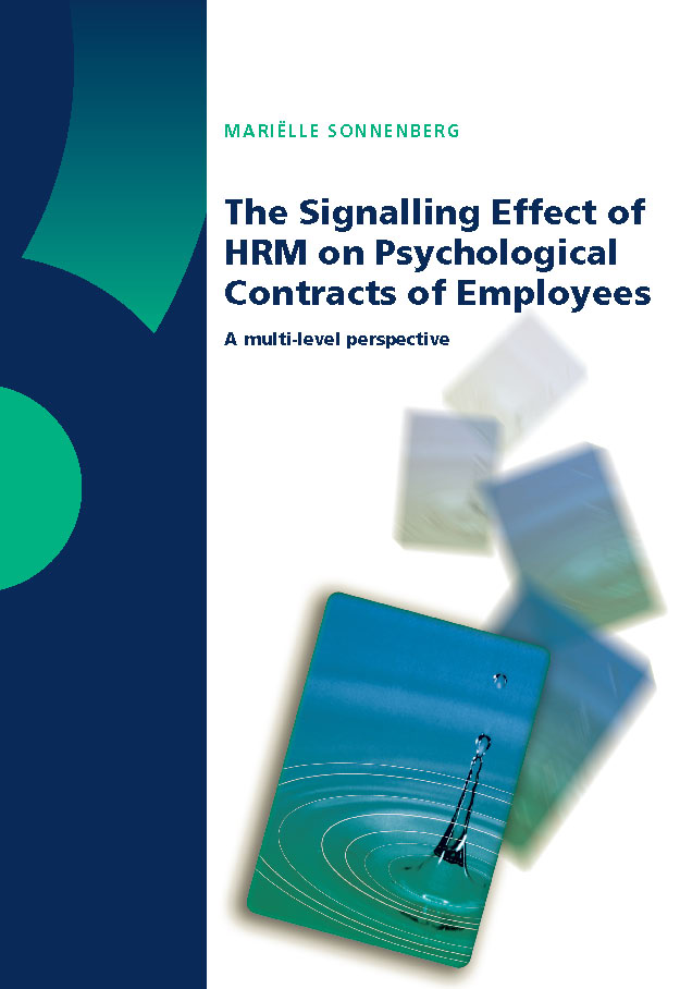 The Signalling Effect of HRM on Psychological Contracts of Employees A multi-level perspective
