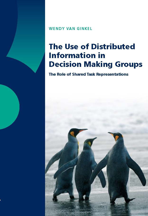 The Use of Distributed Information in Decision Making Groups: The Role of Shared Task Representations
